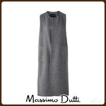 MassimoDutti♪WOOL WAISTCOAT WITH VENTS