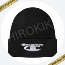 18AW /Supreme Champion 3D Metallic Beanie チャンピオン Black