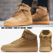 NIKE★AIR FORCE 1 HIGH 07 LV8 WB★ヌバック★ウィートカラー