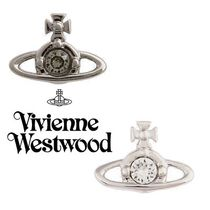 ◆VivienneWestwood◆NANO SOLITAIRE シングル スタッズ ピアス