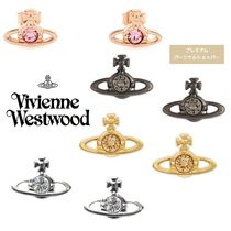 ◆VivienneWestwood◆NANO SOLITAIRE スタッズ ピアス