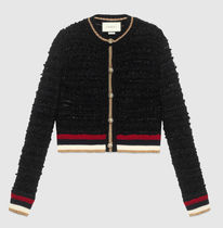 GUCCI Knitted cardigan with Web ニットカーディガン