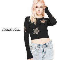 送料/関税込 †DOLLS KILL† HIGH BEAMIN' STAR SWEATER