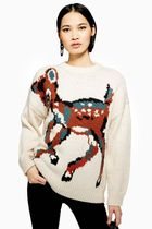 《かわいいバンビ風♪》☆TOPSHOP☆Animal Deer Jumper