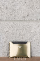 CELINE ★ CARD CASE METALLIC CALFSKIN カード入れ メタリック