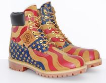 Timberland 6 × Supreme コラボ Stars & Stripes Wheat Boot