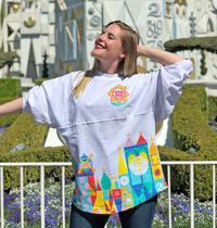 US Disney限定☆新作☆Disneyland Spirit Jersey Small World