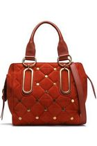SALE【SEE BY CHLOE 】スタッズ★スエード quilted shoulder bag