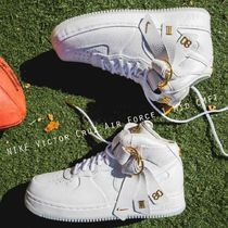 VICTOR CRUZ × NIKE AIR FORCE 1 MID CMFT レア ホワイト