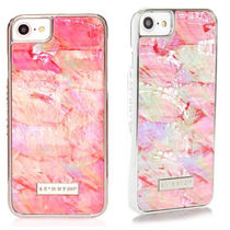 残わずか!SKINNYDIP☆Pink Shell iPhone 7/8&7/8 Plus ケース