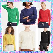 【RL】POLO定番ベストセラー★綿100%Cable Knit Sweaterセーター