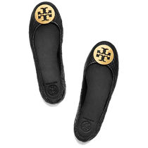 TORY BURCH トリーバーチ QUILTED MINNIE BALLE FLAT 50736 002