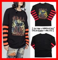 I AM NOT A HUMAN BEING(ヒューマンビーイング) Tシャツ・カットソー 【I AM NOT A HUMAN BEING】 REBIRTH LONG SLEEVE T SHIRTS STUD