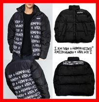 I AM NOT A HUMAN BEING(ヒューマンビーイング) ダウンジャケット ★人気★【I AM NOT A HUMAN BEING】★BASIC DUCK DOWN JACKET★