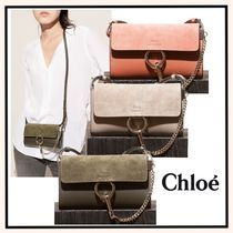 関税送料込☆Chloe Faye wallet on strap