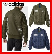 韓国の人気★【ADIDAS】★ORIGINALS LOGO BOMBER JACKET★2色★