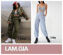 【I.AM.GIA】UOコラボ☆+UO Cobain High-Rise Chain Pant