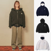 Default(デフォルト) パーカー・フーディ 【Default】HOODY ZIP-UP FLEECE (3 color) - UNISEX