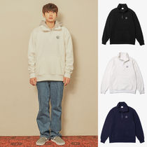 Default(デフォルト) パーカー・フーディ 【Default】DF HALF ZIP-UP FLEECE (3 color) - UNISEX