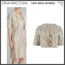 【海外限定】GinaBacconiボレロ☆Daisy Chain Embroidered Mesh