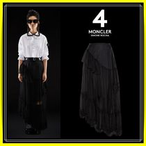 ★【4 MONCLER SIMONE ROCHA】GONNA ★装飾チュールスカート♪