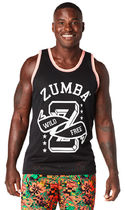 ZUMBA Wild and Free Instructor Jersey (Back to Black)