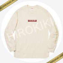 【18AW】Supreme 1994 L/S Tee ロングスリーブ Tシャツ Natural