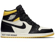 "Nike(ナイキ)Air Jordan 1 Retro High ""Not for Resale"" /YELLOW"