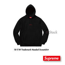 [18 A/F] 国内発送 Supreme  Trademark Hooded Sweatshirt