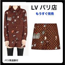 【Louis Vuittonパリ店】キャット&モノグラム ショーツ 追跡付