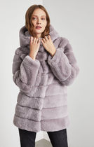 《関税・送料無料》コート♪ Felicia Faux Fur Hooded Coat