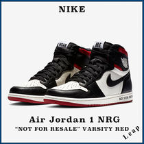"【Nike】人気 激レア Air Jordan 1 NRG ""Not For Resale"" Red"