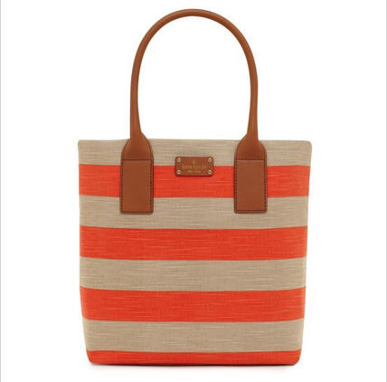 【KATE SPADE】即発送可☆Jubilee Stripe Bon Shopper