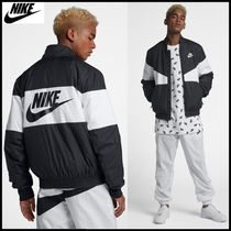☆Nike_Men's Fill Graphic Bomber Jacket ☆正規品・安全発送☆