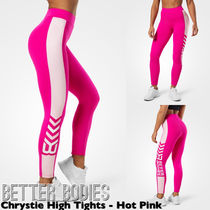 BETTER BODIES(ベターボディーズ) フィットネスボトムス 【送料込】BETTER BODIES Chrystie High Tights - Hot Pink