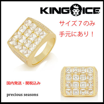 King Ice ネックレス・チョーカー 国内発送・関税込【KING ICE】Notorious B.I.G. The Biggie Ring