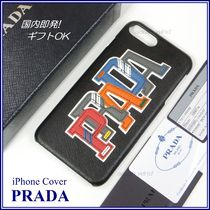 国内発 PRADA iPhone 6 Plus / 6s Plus カバー saffiano 2ZH036