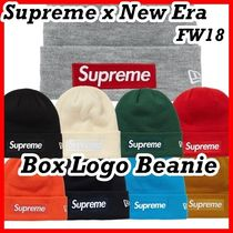 Supreme シュプリーム  New Era Box Logo Beanie 18 FW  WEEK 12