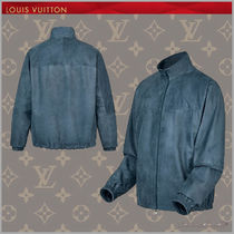 ◆Louis Vuitton18-19AW最新作◆ヌバックジャケット◆ブルー◆