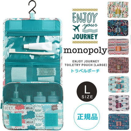 ENJOY JOURNEY TOILETRY POUCH (L) トラベルポーチ