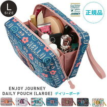 ENJOY JOURNEY DAILY POUCH (L) デイリーポーチ