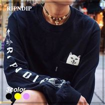 【RIPNDIP】Lord Nermal L/S T-Shirt 3カラー (送料関税込)