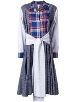 【関税負担】♡LOEWE♡ Check and Stripe Dress