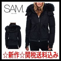 ☆日本未入荷【新作・SAM NEW YORK】Jetset Fur-Trim Down Coat