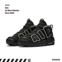 人気話題!Nike Air More Uptempo Black White