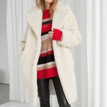 & Other Stories - Faux Shearling Coat