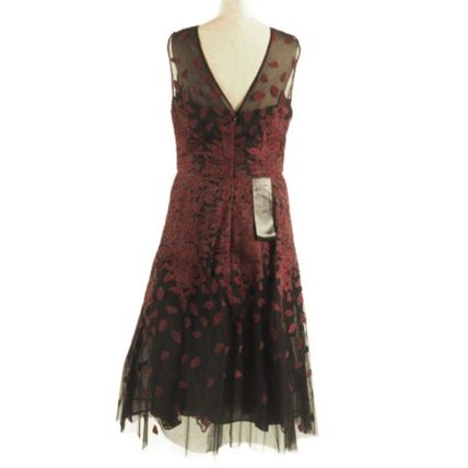 BCBG MAXAZRIA ワンピース 花柄イブニングドレス♪ Floral Embroidered[RESALE](3)