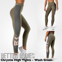 BETTER BODIES(ベターボディーズ) フィットネスボトムス 【送料込】BETTER BODIES Chrystie High Tights - Wash Green
