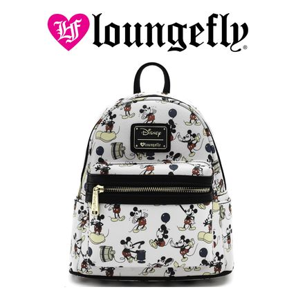 LOUNGE FLY バックパック・リュック 【Lounge Fly】●ディズニーコラボ●Mickey Print Mini Backpack