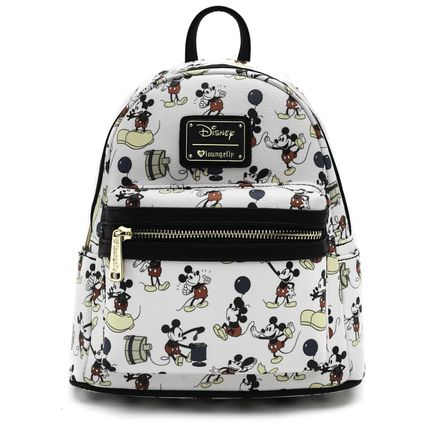 LOUNGE FLY バックパック・リュック 【Lounge Fly】●ディズニーコラボ●Mickey Print Mini Backpack(2)